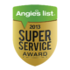 2013 Angie's List Super Service Award