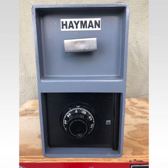 Hayman Top Load Drop Safe